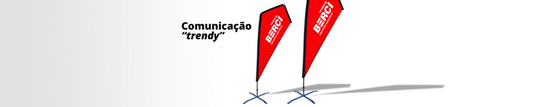 Bandeiras publicitárias Spike flag